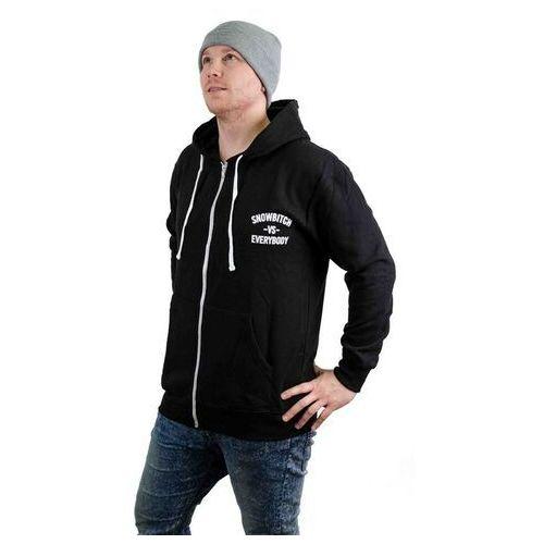 Bluza - everybody zip black (black) rozmiar: xxl marki Snowbitch