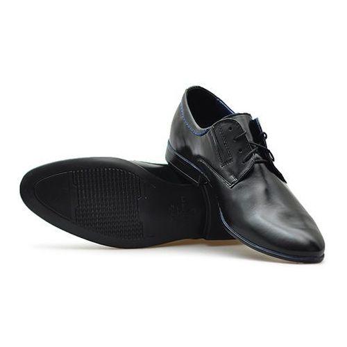 Pantofle Fado 242/CZ+J Czarne lico