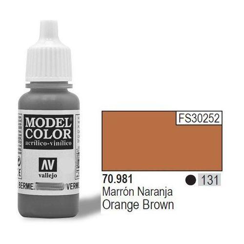 Farba Nr 131 Orange Brown 17ml Matt (8429551709811)