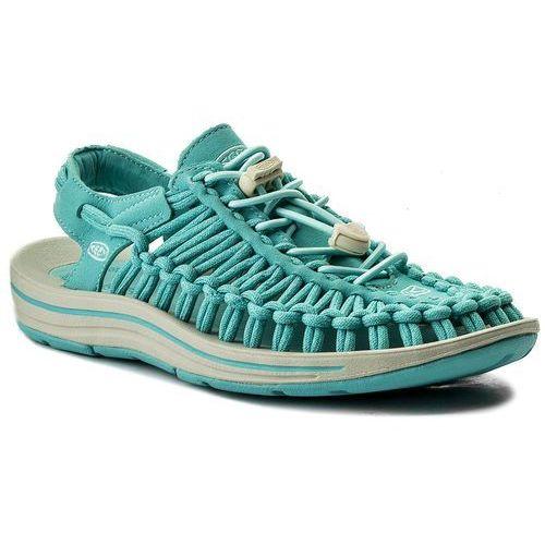 Sandały KEEN - Uneek 1018685 Aqua Sea/Pastel Turquoise