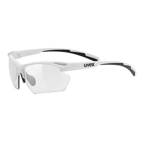 Uvex Fotochromowe okulary sportstyle 802 small vario biały