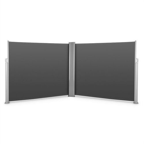 Blumfeldt Bari Doppio 616 Podwójna markiza boczna 6x1,6m Aluminium antracytowa (4260435911807)