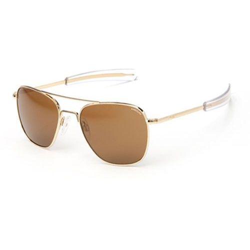 Randolph engineering Okulary słoneczne aviator polarized af51632