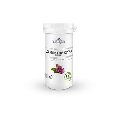 Kapsułki CZERWONA KONICZYNA EKSTRAKT 550 mg 60 KAPSUŁEK - SOUL FARM