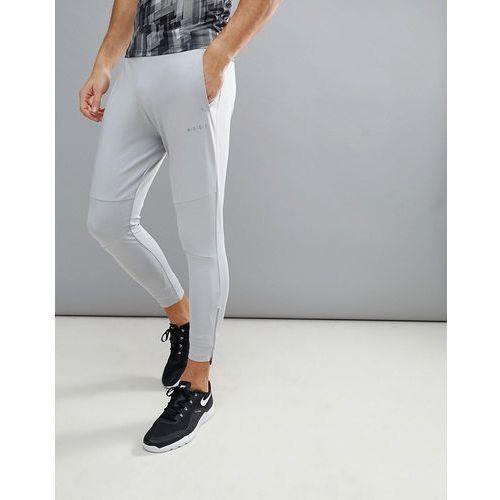 super skinny training joggers with zip cuff in grey - grey, Asos 4505, XL-XXL