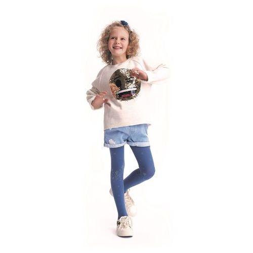 Rajstopy prado 104-110, jeans. knittex, 104-110, 116-122, 122-128, 92-98 marki Knittex