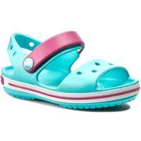 Sandały CROCS - Crocband Sandal Kids 12856 Pool/Candy Pink, kolor niebieski