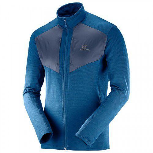 Softshell męski Salomon Agile Warm Jacket Night Sky