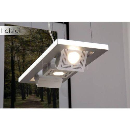 Funkcjonalna lampa wisząca LED Tresol Cube Trio