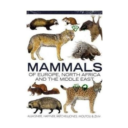 Mammals of Europe, North Africa and the Middle East (9781408113998)