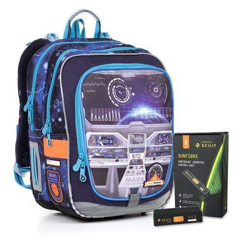 Plecak szkolny endy 17003 battery acm b marki Topgal
