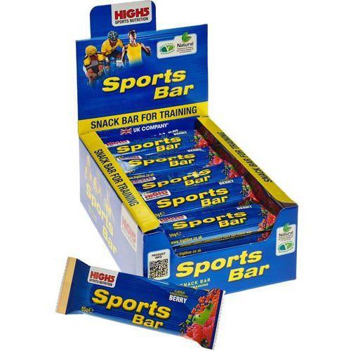 High5 sportbar żywność dla sportowców red fruits 25 x 55g 2018 zestawy i multipaki (5027492999006)