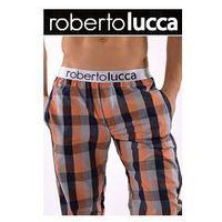Spodnie domowe orange 150w056 02260, Roberto lucca