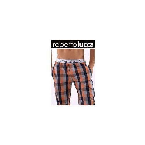Roberto lucca Spodnie domowe orange 150w056 02260