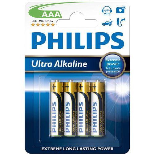Bateria PHILIPS Ultra LR3/AAA (4 szt.)
