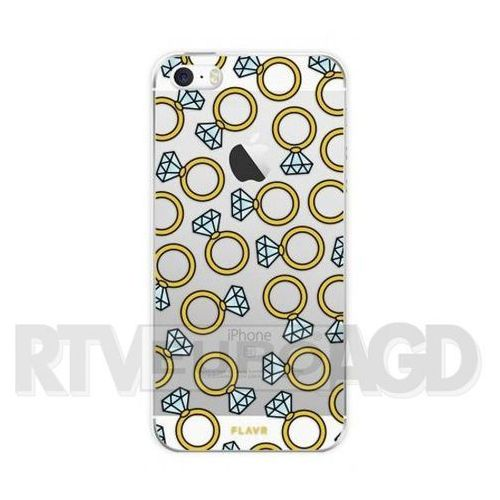 Flavr iPlate Diamond Rings iPhone 5/5s/SE (kolorowy) (4029948054384)