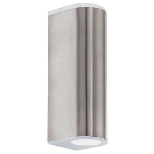 Eglo Lampa ścienna cabos 93271 oprawa kinkiet 2x2,5w led satyna (9002759932718)