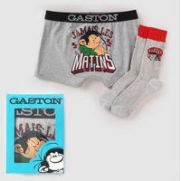 Zestaw bokserki+skarpetki, Gaston lagaffe
