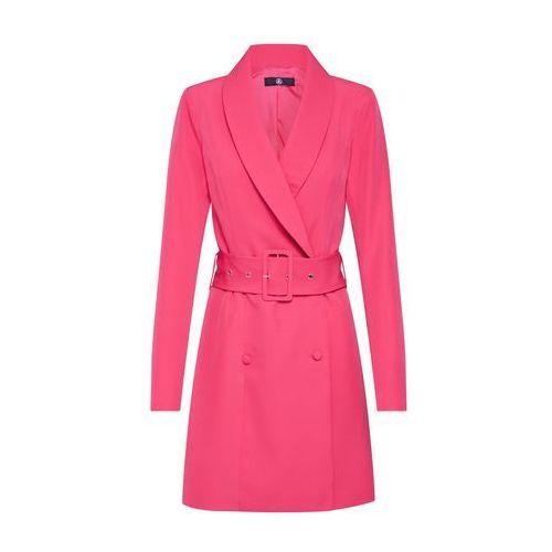 Missguided Sukienka 'TORTOISE SHELL BELT BLAZER DRESS' purpurowy, w 6 rozmiarach