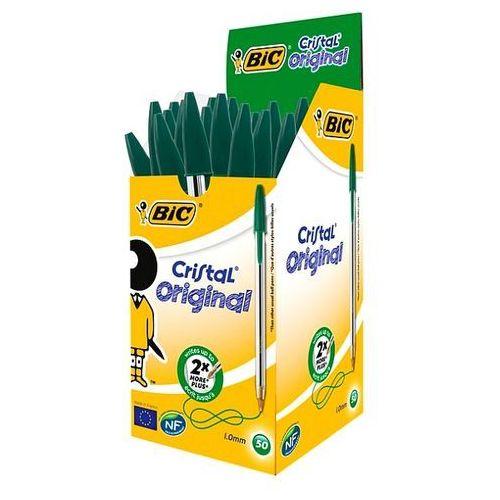 Bic Długopis cristal zielony 1mm 875976