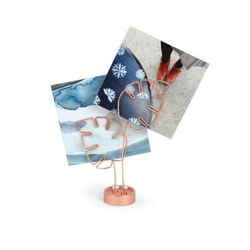 - uchwyt, ekspozytor na zdjęcia miedziany marki Umbra