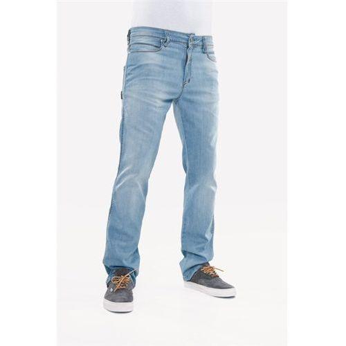 Spodnie - razor light blue flow (light blu fl) rozmiar: 30/30, Reell