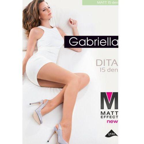 Gabriella Rajstopy klasyczne model dita matt 15 den code 713 beige