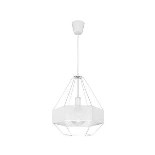Tk lighting Żyrandol na drutu cristal new 1xe27/60w/230v biały