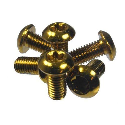 Dartmoor Śruby mocujące tarcze hamulcowe stalowe złote, 6 szt. (5906720832035)
