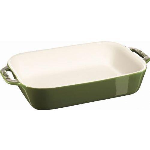 Staub naczynie do pieczenia zielone 27cm