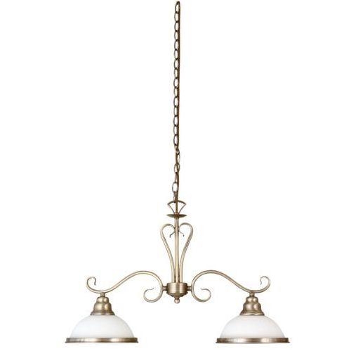 Rabalux Lampa wisząca zwis oprawa elisett 2x60w e27 brązowa 2757 (5998250327570)