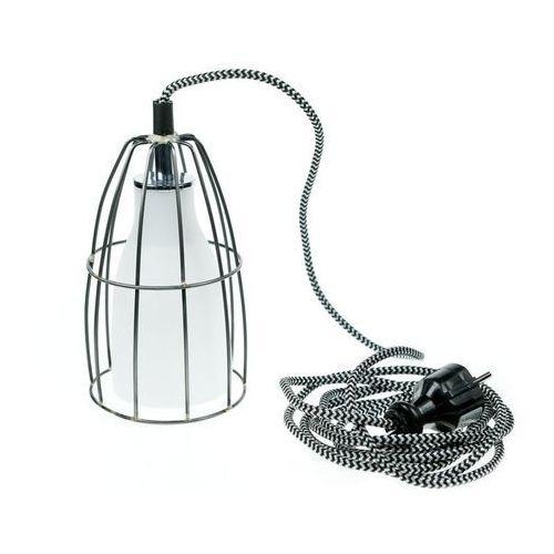 - oprawa z wtyczką - frame - przewód biało-czarny - biało-czarny marki Kaspa
