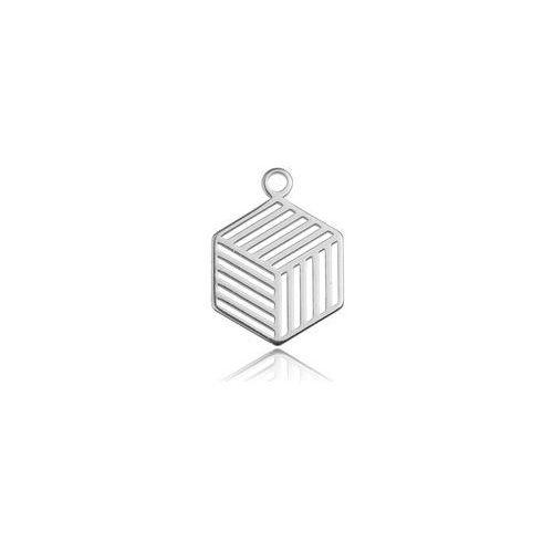 Zawieszka geometryczna - ażurowa, srebro próba 925 bl 269, marki 925.pl