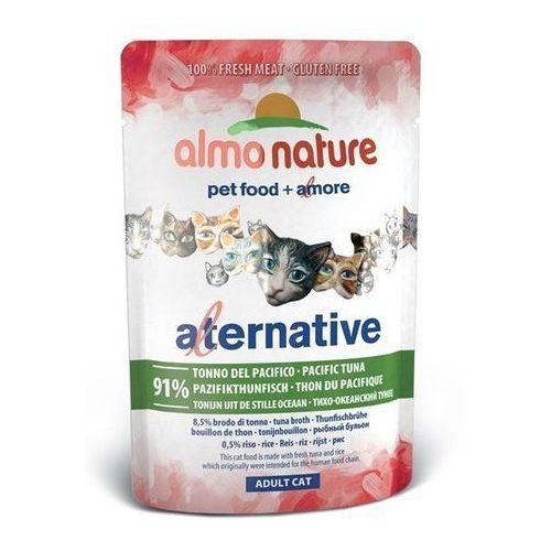 Almo Nature Alternative tuńczyk pacyficzny 55g (8001154125696)