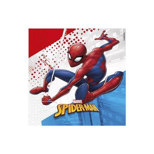 Procos disney Eko serwetki urodzinowe spiderman - 33 cm - 20 szt. (5201184915080)