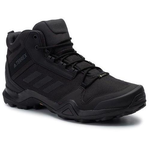 Buty - terrex ax3 mid gtx gore-tex bc0466 cblack/cblack/carbon marki Adidas