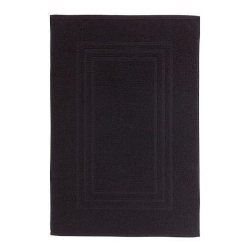 Dywanik łazienkowy Palmi bawełniany 50 x 80 cm czarny, 710194