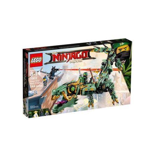 LEGO® Ninjago 70612 Mechaniczny smok zielonego ninja. Najniższe ceny, najlepsze promocje w sklepach, opinie.