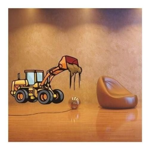 Naklejka buldożer 36 marki Wally - piękno dekoracji