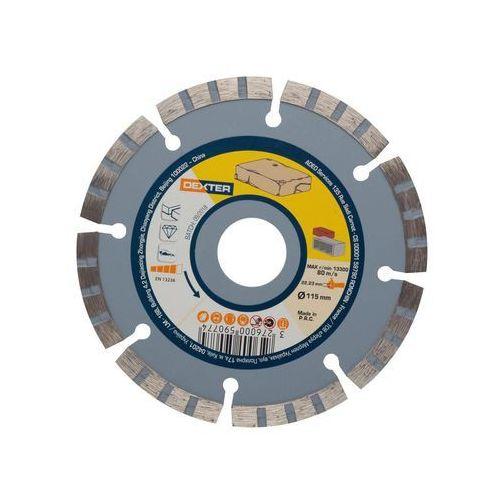 Dexter Tarcza diamentowa segmentowa do kamienia 115x2.3x22.2 mm (3276000590774)