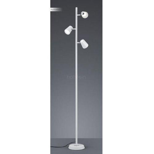 Trio narcos 473190331 lampa stojąca podłogowa 3x4,7w led biała/biała