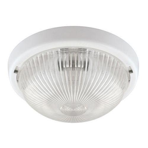 Plafon hermetyczny Lob 1 x 100 W E27 white (5901477326769)