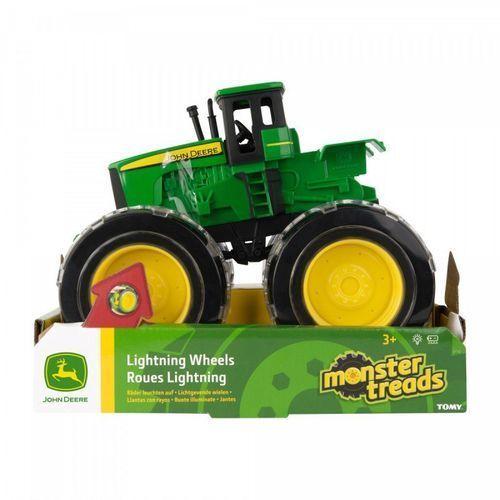 John Deere Traktor Monster - Świecące koła