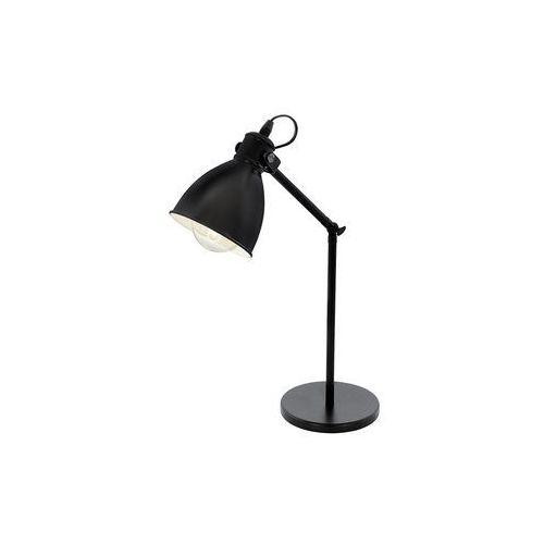 Eglo 49469 - lampa stołowa priddy 1xe27/40w/230v (9002759494698)