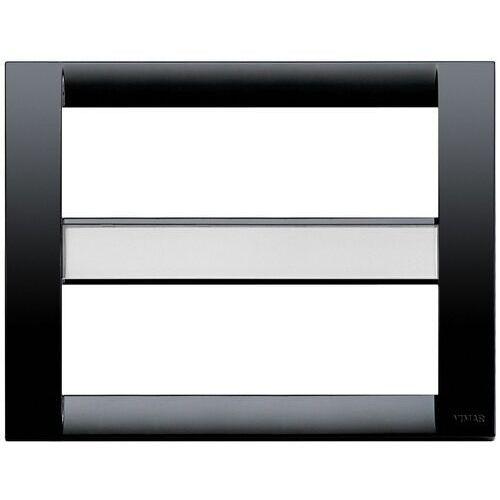 Ramka Classic 12M czarna, kolor czarny