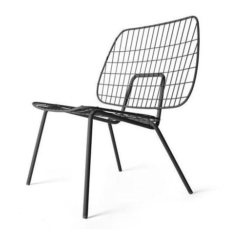 Krzesło WM String Lounge Chair czarne