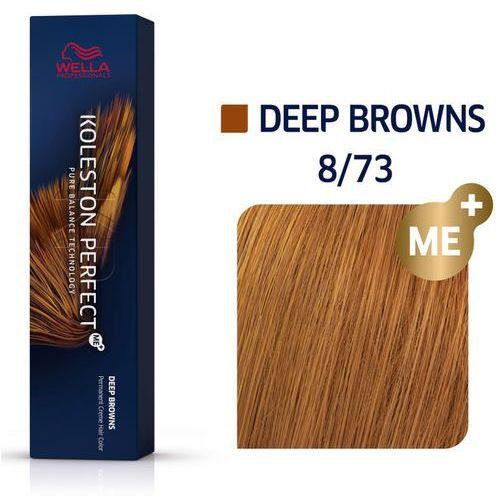 Wella koleston perfect me+   trwała farba do włosów 8/73 60ml marki Wella professionals