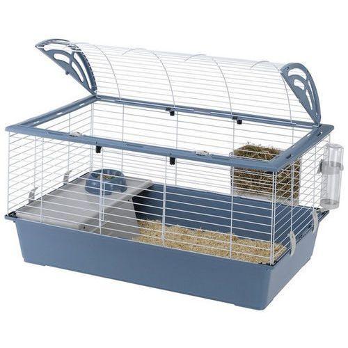 OKAZJA - Ferplast casita 100 klatka dla świnki, królika z wyposażeniem (57066170)