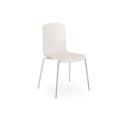 Nowy styl Krzesło cafe xii alu/black seat plus