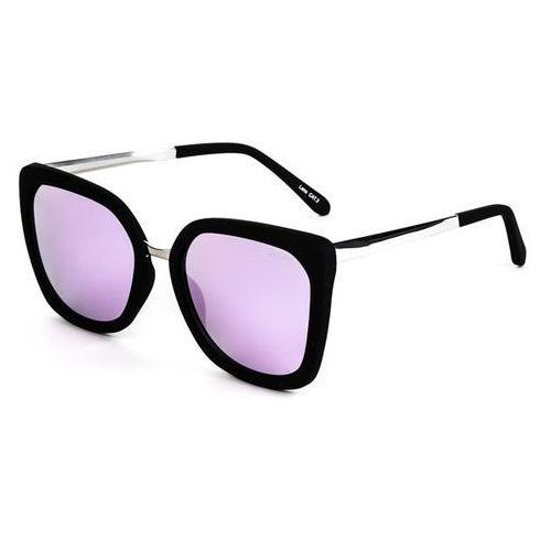 Quay australia Okulary słoneczne qw-000167 capricorn blk/pnk